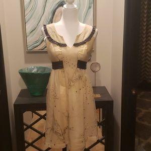 Fei Fairies Dress with Plum Sash